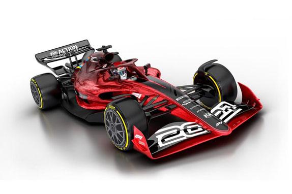 Прототип машины 2021 года