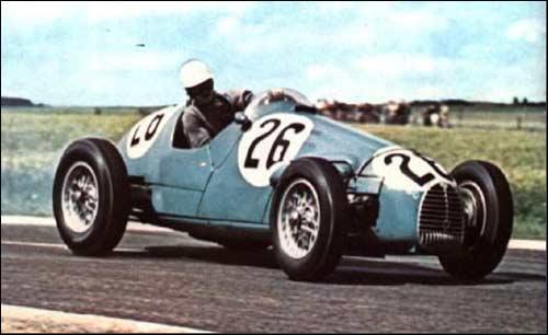 Gorgini Type 16 Жака Полле на Гран При Франции 1954 года