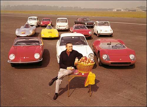 Аурелио Лампреди и созданные им автомобили. Фото 60-х годов
