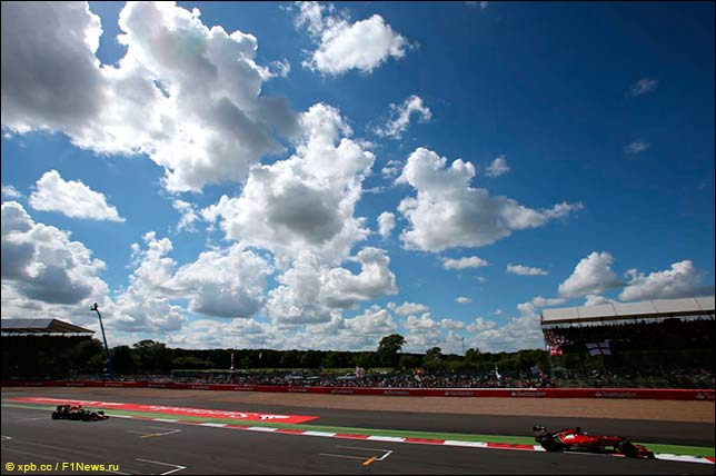2012 british grand prix in pictures