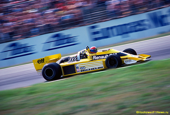 Жан-Пьер Жабуй на Гран При Германии 1978 года