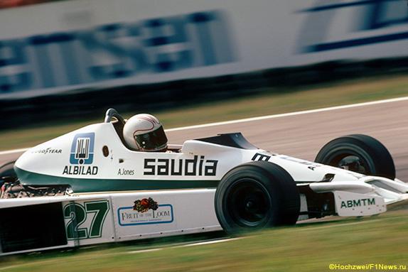 Алан Джонс на Гран При Германии 1978 года