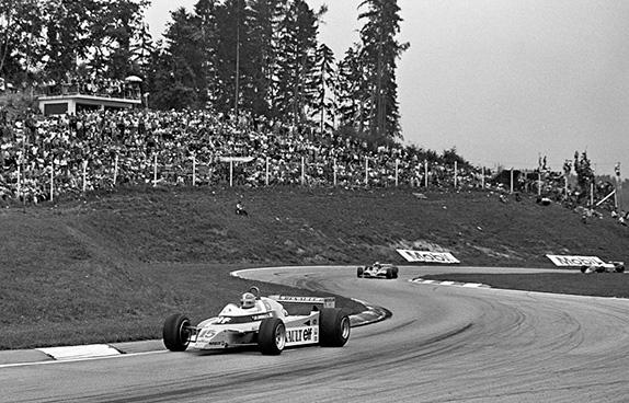Жан-Пьер Жабуй на Гран При Австрии 1979 года. Фото Renault