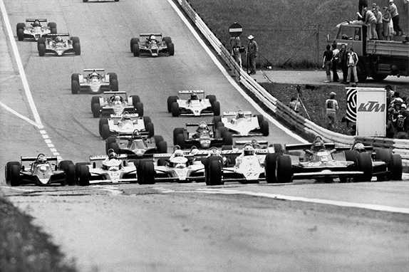 Старт Гран При Австрии 1979 года