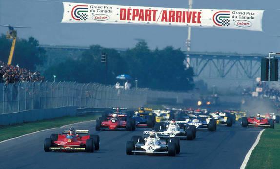 Старт Гран При Канады 1979 года