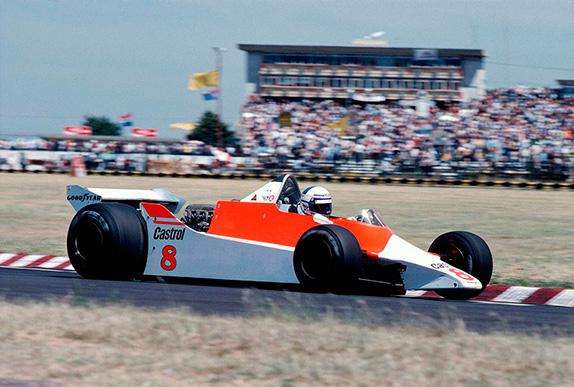 Ален Прост на Гран При Аргентины 1980 года. Фото McLaren