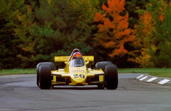 Эмерсон Фиттипальди на Гран При США 1980 года
