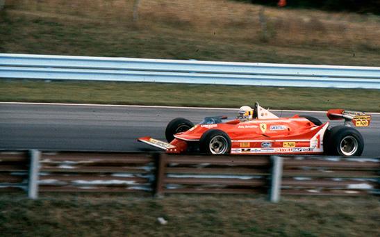 Джоди Шектер на Гран При США 1980 года