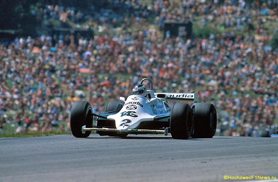 Карлос Ройтеман на Гран При Австрии 1981 года