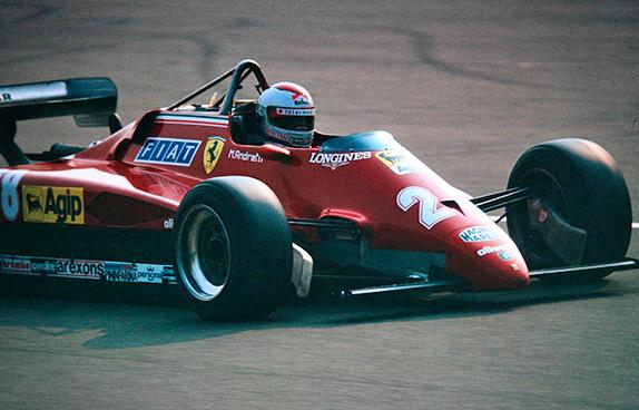 Марио Андретти на Гран При Италии 1982 года