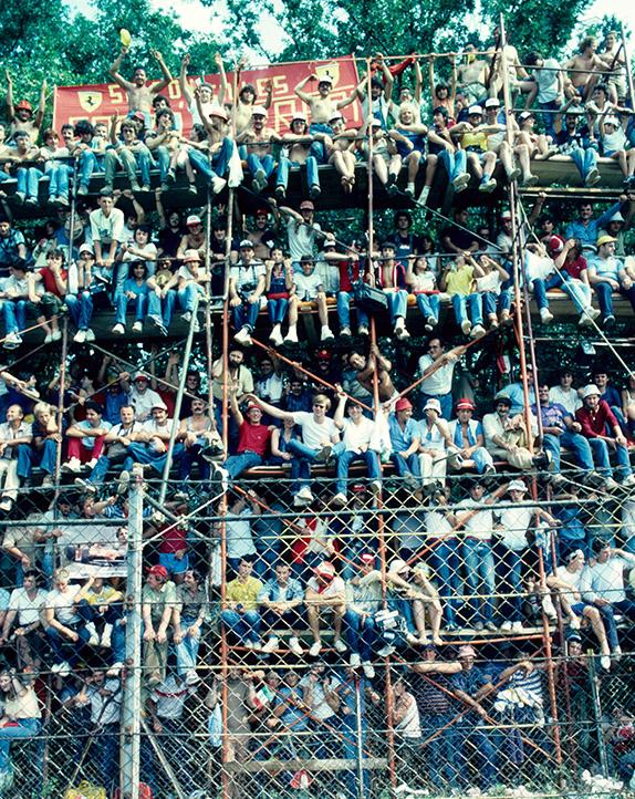Зрители на Гран При Италии 1982 года