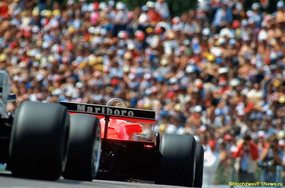 Alfa Romeo Андреа де Чезариса на Гран При Швейцарии 1982 года