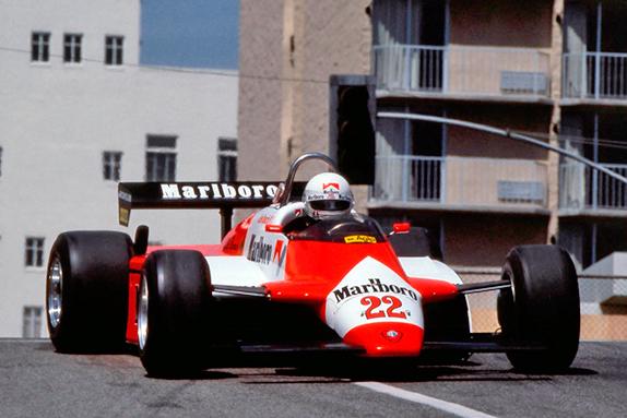 Андреа де Чезарис на Гран При Лонг-Бич 1982 года