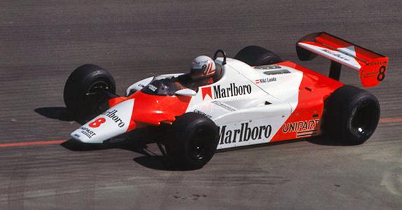 Ники Лауда на Гран При Лонг-Бич 1982 года