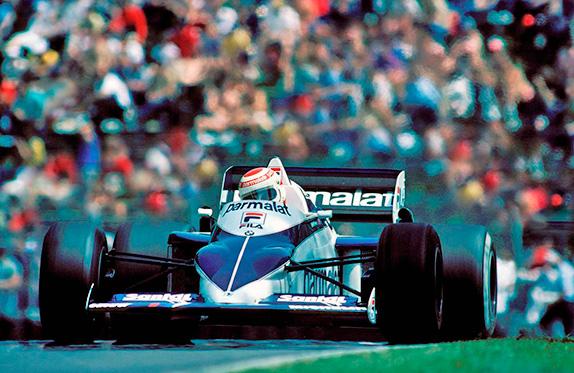 Нельсон Пике на Гран При Канады 1983 года