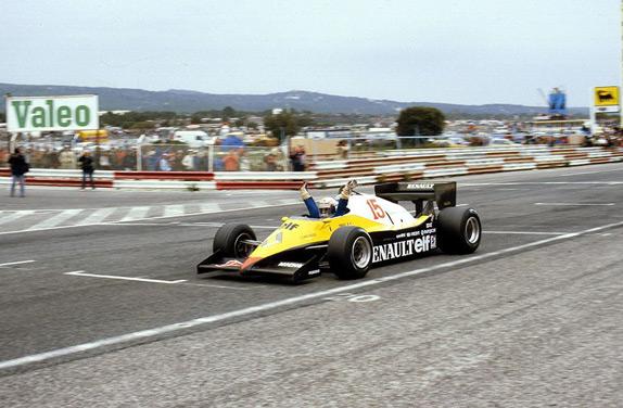 Ален Прост выигрывает Гран При Франции 1983 года