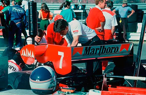 Машина Алена Проста на Гран При Канады 1984 года