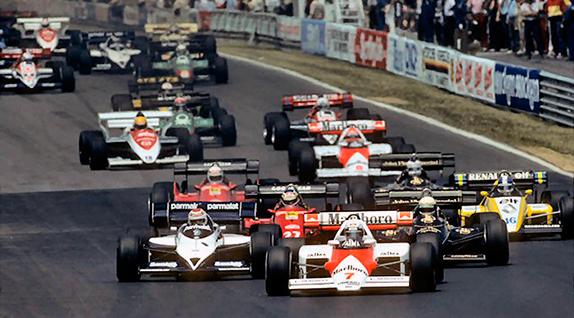 Старт Гран При Канады 1984 года