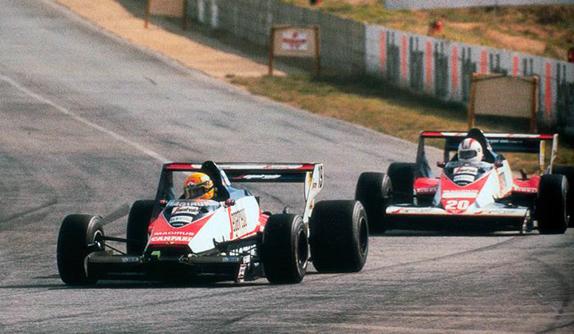 Айртон Сенна на Гран При ЮАР 1984 года