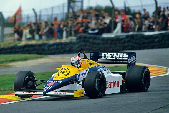 Найджел Мэнселл на Гран При Великобритании 1985 года