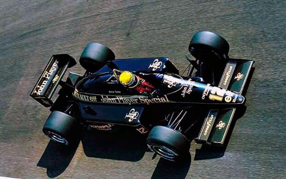 Айртон Сенна на Гран При Италии 1985 года