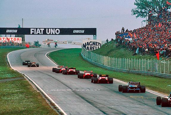 Первый круг Гран При Сан-Марино 1986 года