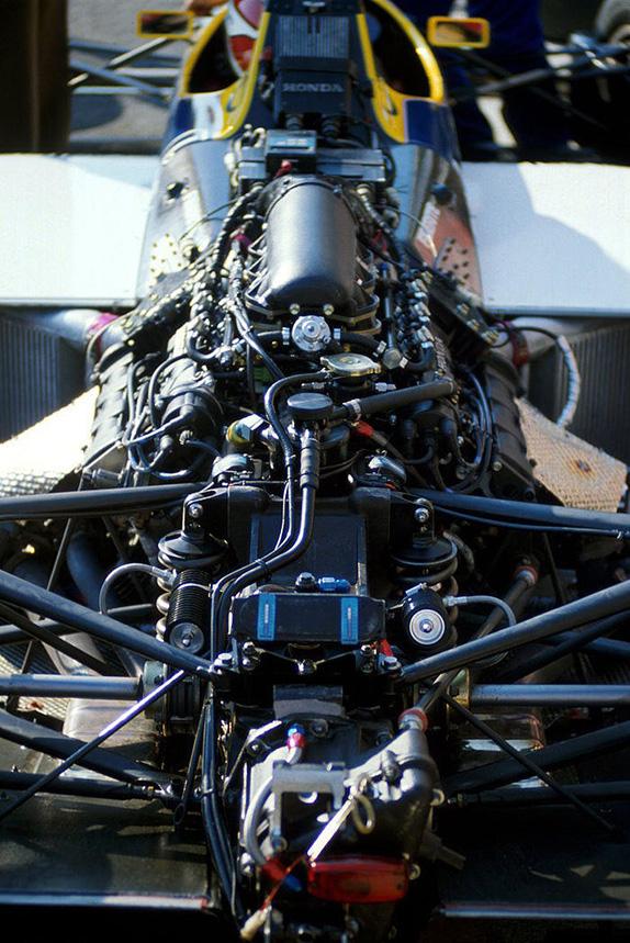 Мотор Honda на Williams FW11 1986 года