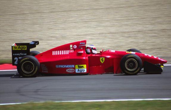 Жан Алези на Гран При Франции 1994 года. Фото Ferrari