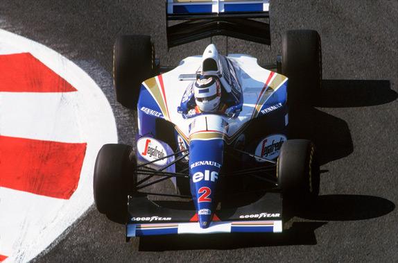 Найджел Мэнселл на Гран При Франции 1994 года