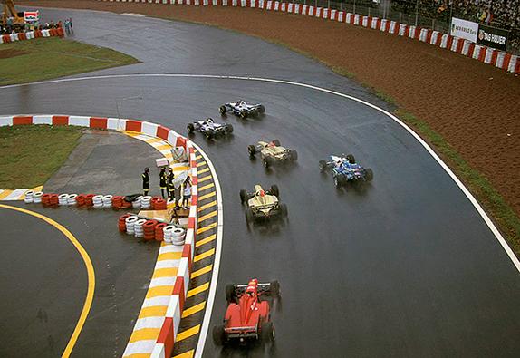 Старт Гран При Бразилии 1996 года