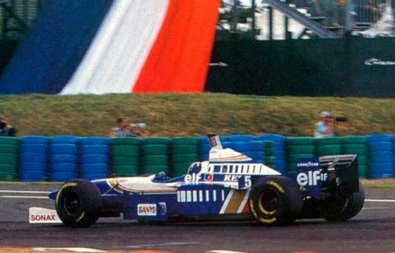 Деймон Хилл на Гран При Франции 1996 года