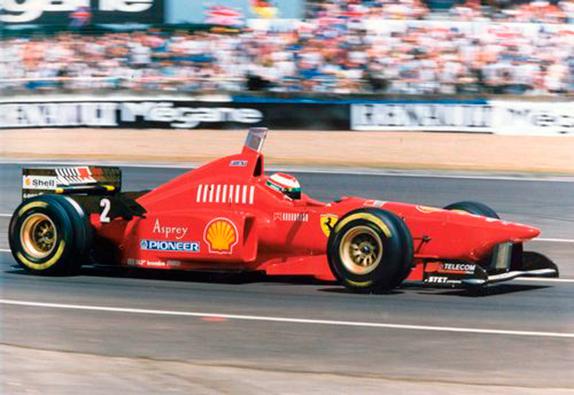 Эдди Ирвайн на Гран При Франции 1996 года
