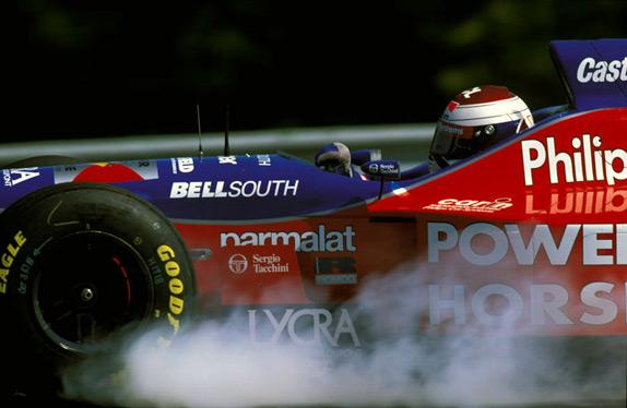 Йос Ферстаппен на Гран При Венгрии 1996 года