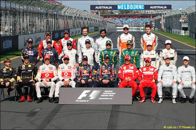 Формула 1 (сезон 2011)