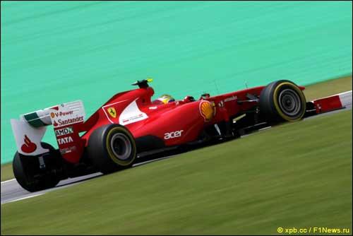 Ferrari f1 profile
