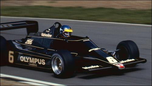 Ронни Петерсон на Гран При Великобритании 1978 года