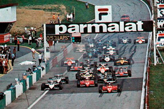 Старт Гран При Австрии 1983 года