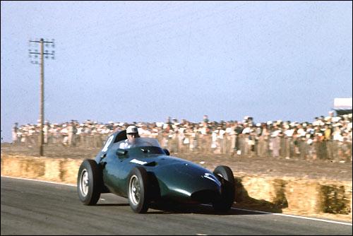 Гран При Марокко. Стюарт Льюис-Эванс. За несколько кругов до взрыва мотора