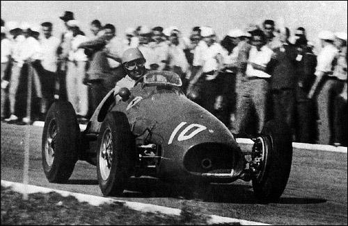 Альберто Аскари на Гран При Аргентины 1953 года
