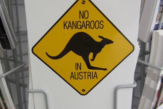 Любимая шутка австрийцев: «В Австрии нет кенгуру!»