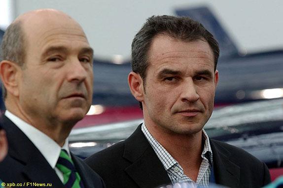 Петер Заубер и Беат Цендер, 2004 год