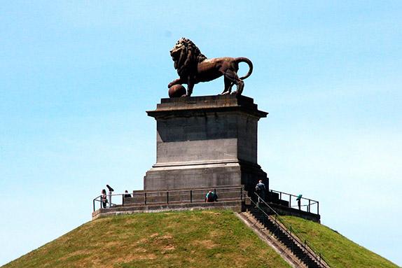 Монумент в память о Битве при Ватерлоо