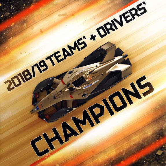 Формула E: Фряйнс выиграл гонку, Вернь – титул