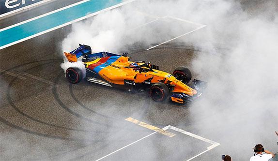 Прощальные пончики Фернандо Алонсо в Формуле 1
