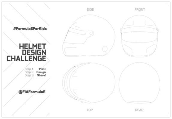 FE H Fotor(1) - Формула E: Раскраски для детей и архив гонок для взрослых