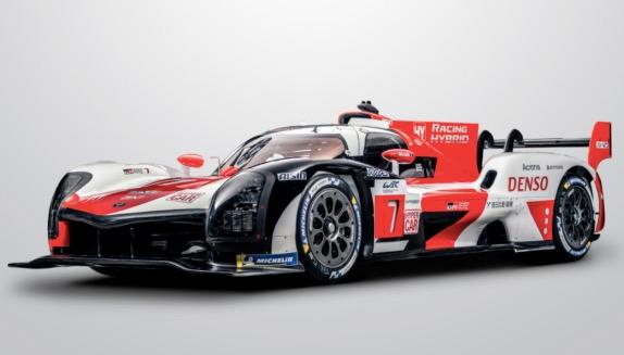 WEC: В Toyota представили машину класса Hypercar