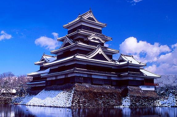 Средневековый японский замок