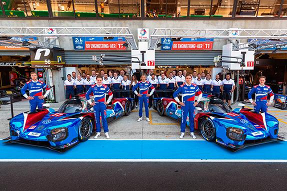Команда SMP Racing в Ле-Мане