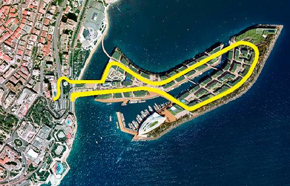 Дополнительный отрезок трассы на искусственном острове, который планируется возвести к 2025 году