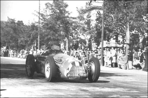 Педральбес. 1951. Хуан-Мануэль Фанхио